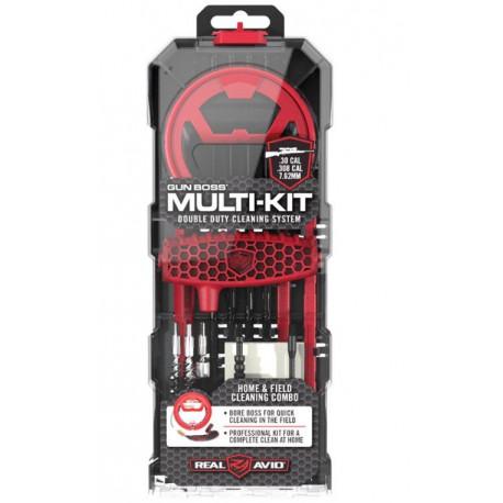Čistící sada pro zbraně Real Avid Gun Boss Multi-Kit .308/7,62