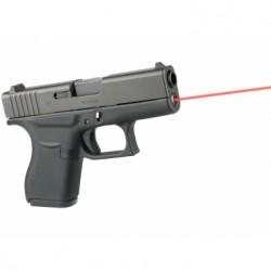 Laserový zaměřovač LaserMax, pro Glock 42, červený