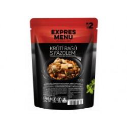 Krůtí ragů s fazolemi 600g (2 porce)