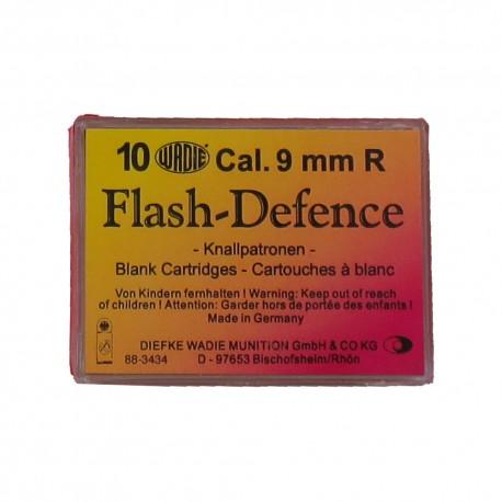 Revolverové Střelivo 9mm Flash-Defence (10ks)