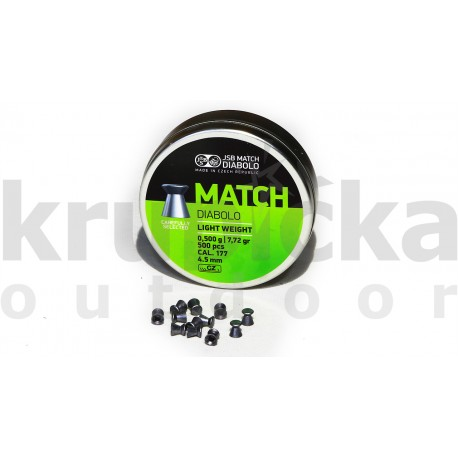 Diab. 4,5mm JSB Match LW (500ks)