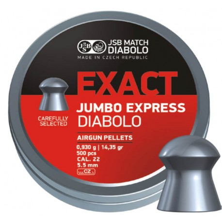 Diab. JSB Jumbo Exact Express, 5,5mm (250ks)