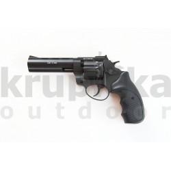"""Flobert Revolver Zoraki Streamer 4,5"""" 4mm Černý"""