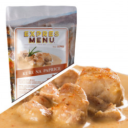 Kuře na paprice 600g (2 porce)