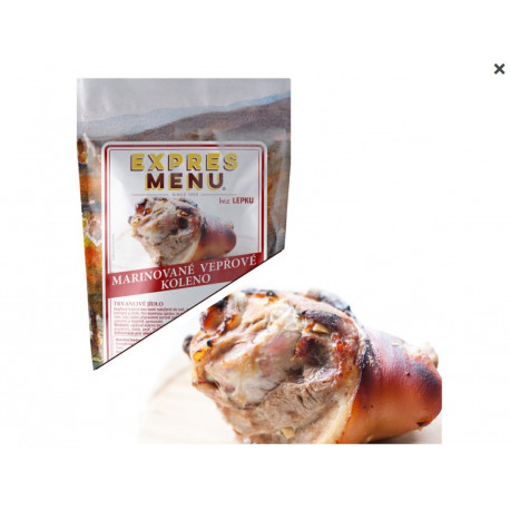 Marinované vepřové koleno 600g (2 porce)