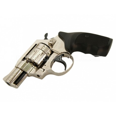 Flobertka 6mm, revolver ALFA 620 nikl,plast