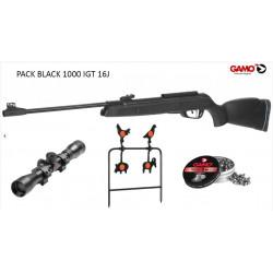 Vzduchovka GAMO Black 1000 IGT cal. 4,5mm SET