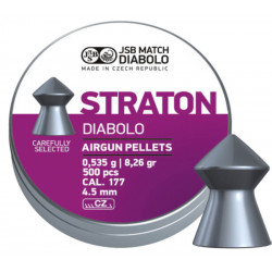 Diabolo 4,5mm JSB Straton 500 ks