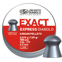 Diab. 4,52mm JSB Exact Express 500 ks