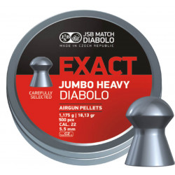 Diab. JSB Jumbo Heavy, 5,52mm, 250 ks
