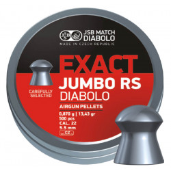 Diab. JSB Jumbo RS, 5,52mm (500ks)