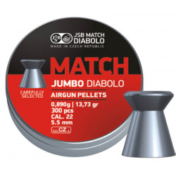 Diab. JSB Match Jumbo, 5,5mm (300ks)
