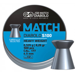 Diab. 4,5mm JSB Match S100 (500ks)