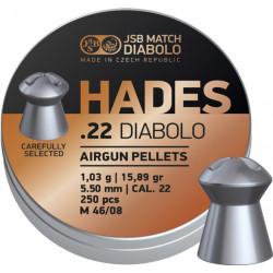 Diab. JSB Hades 5,50mm, 250 ks