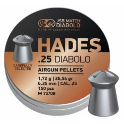 Diab. JSB Hades 6,35mm, 150 ks