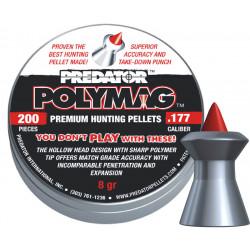 Diabolo Predator polymag 4,50mm, 200 ks