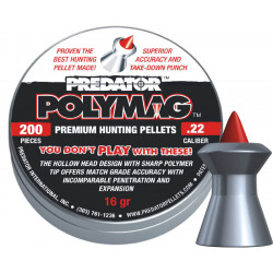Diabolo Predator polymag 5,50mm, 200 ks