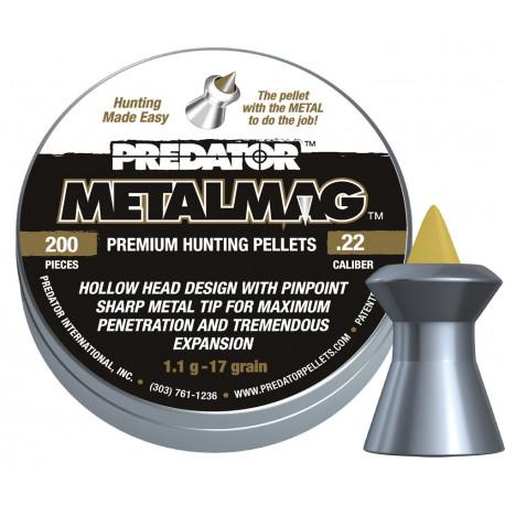 Diabolo Predator metalmag 5,50mm, 200 ks
