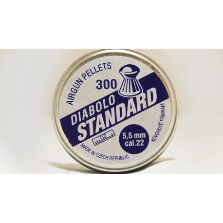 Diab. 5,5mm Kovopb Standart (300ks)